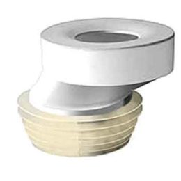 Manicotto eccentrico mm.40 WC D.100 membrane elastiche