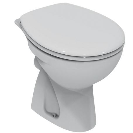Vaso wc scarico a parete quarzo dolomite edilromanina for Scarico wc a parete