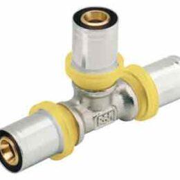 Tee GAS 16x16x16 a pressare
